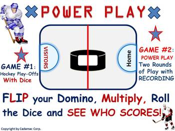 Multiplication Hockey: Two Power Play Games