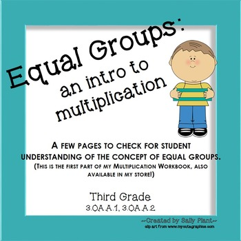 Multiplication and Equal Groups
