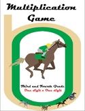 Multiplication Horse Race