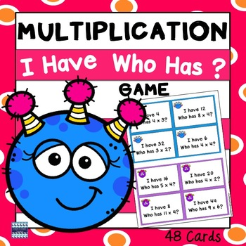 Multiplication:  I Have...Who Has?