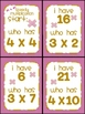 Multiplication: I have... Who has? {6 games}