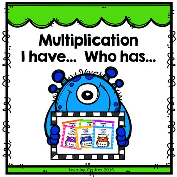 Multiplication - I have... Who has... game
