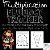 Multiplication Fluency Tracker Craftivity
