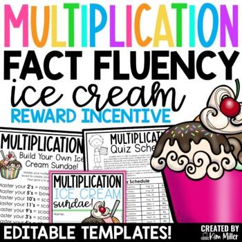 Multiplication Ice Cream Reward Incentive