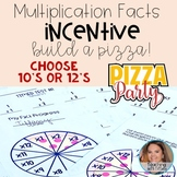 Multiplication Fact Mastery Incentive - Build a Pizza