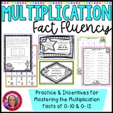 Multiplication fact Incentive unit-awards, flash cards,  awards etc.