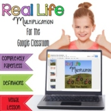 Multiplication - Interactive Digital Resource for the Google Classroom