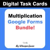 Multiplication - Interactive Digital Task Cards - Google F