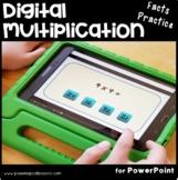 Multiplication Google Classroom & Powerpoint   Multiplication Fact Fluency  x 6