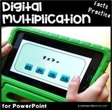 Multiplication Google Classroom & Powerpoint   Multiplication Fact Fluency  x 8