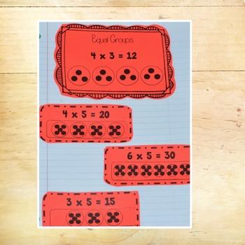 Multiplication Interactive Journal Activities