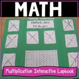 Multiplication Fact Fluency Interactive Lapbook