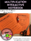 Multiplication Interactive Notebook