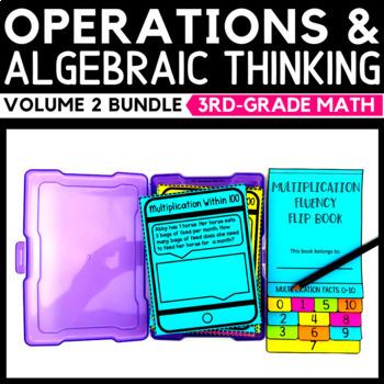 Operations and Algebraic Thinking Task Cards Bundle Volume 2