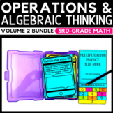 Operations and Algebraic Thinking Task Cards Bundle Volume 2