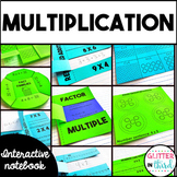 Multiplication Interactive Notebook BUNDLE