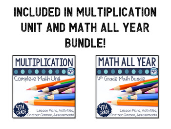 Multiplication Interactive Notebook Templates