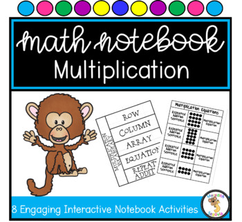 Multiplication Interactive Notebook Unit