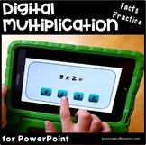 Multiplication Google Classroom & Powerpoint   Multiplication Fact Fluency  x 3
