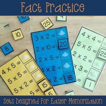 Multiplication Interactive Work Tasks