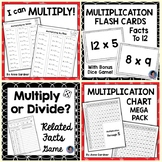 Multiplication Worksheets: Ideal for Math Fact Fluency Practice {RtI}