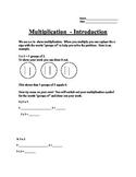 Multiplication Intro.