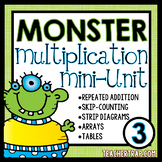 Multiplication Unit 3rd Grade