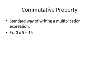 Multiplication Introduction