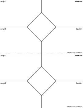 Multiplication Introduction ISN - Journal Insert
