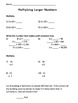 Multiplication Introduction and Practice/Assessment Sheets