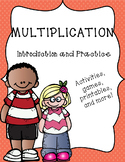 Multiplication - Introduction and Practice of Concepts, Facts, and Properties