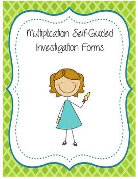 Multiplication Investigation Forms