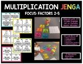 Multiplication Jenga: 3rd Grade Engage NY/Eureka Math-Module 1