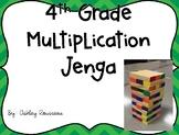 Multiplication Jenga Game Cards