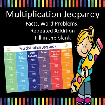Multiplication Interactive Game Show