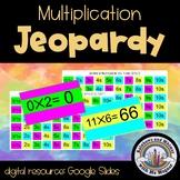 Multiplication Jeopardy: Level 1