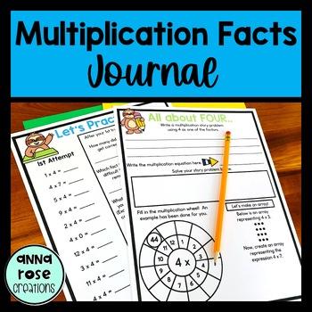 Multiplication Journal