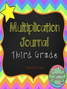 Multiplication Journal - Grade 3 (Common Core)