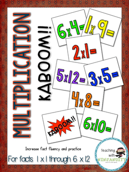 Multiplication KABOOM!!