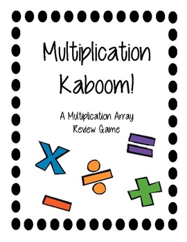 Multiplication Kaboom! Game