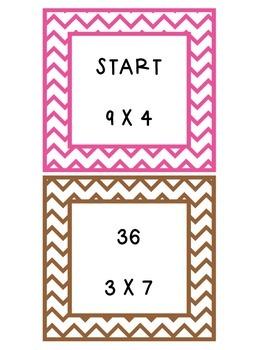 Multiplication Ladders