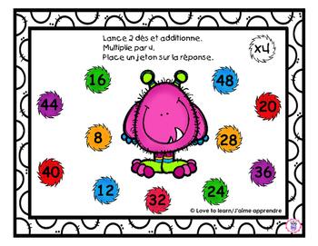 Multiplication - Lance et couvre