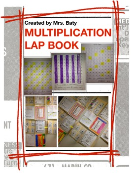 Multiplication Lap Book Unit