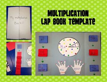 Multiplication Lapbook From Kiddos