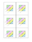 Multiplication Lattice Grid 2 digit by 2 digits