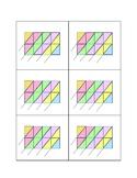 Multiplication Lattice Grid 4 digit by 2 digit