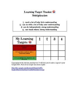 Multiplication Learning Target Tracker