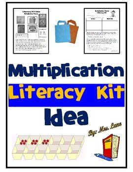 Multiplication Literacy Kit Idea