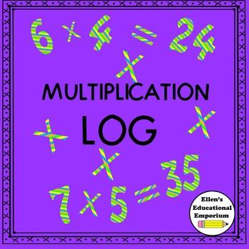 Multiplication Log