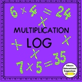 Multiplication Log